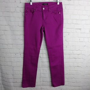 WHBM Purple Pants- Blanc 4R Slim Ankle